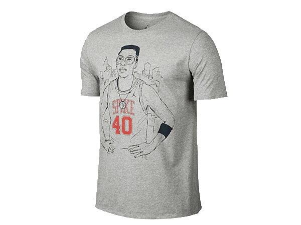 【毎日がお得!値下げプライス】 NIKE SPIKE 40 PLAYER TEE ナイキ スパイク 40 プレイヤー Tシャツ GRY/BLK 728530-063