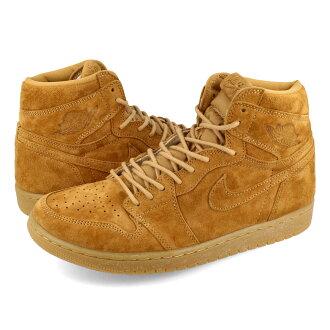 NIKE AIR JORDAN 1 RETRO HIGH OG Nike Air Jordan 1 nostalgic high OG GOLDEN HARVEST/ELEMENTAL GOLD