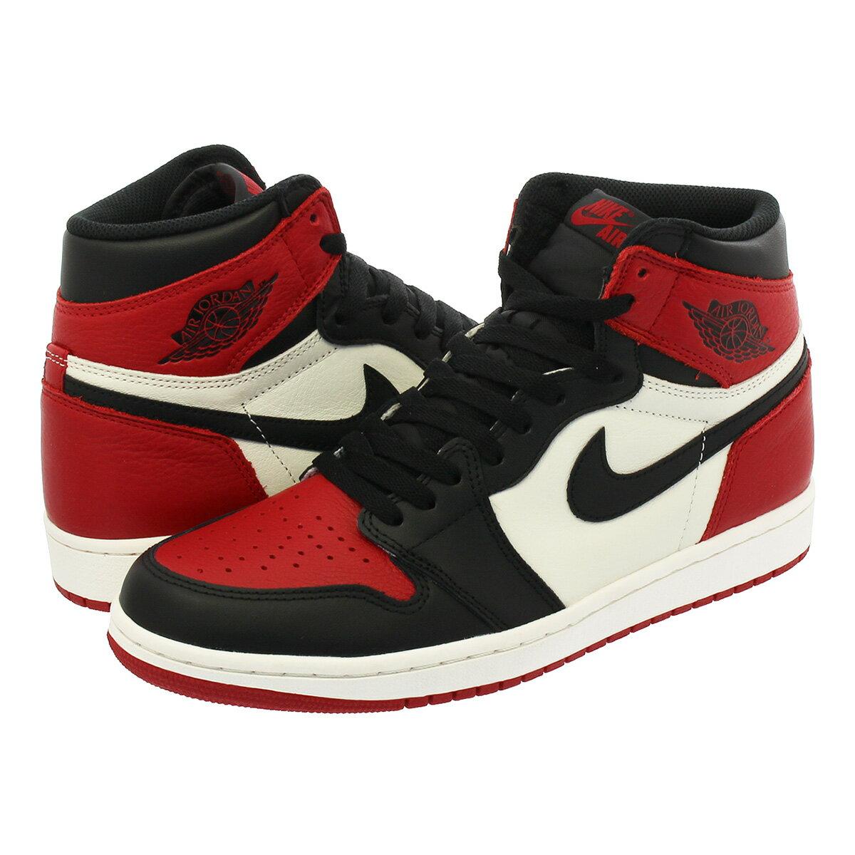 jordan retro 1 red black