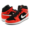 NIKE AIR JORDAN 1 MID ナイキ エア ジョーダン 1 ミッド BLACK/INFRARED 23/WHITE 554724-061