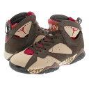 31562ad28e7 NIKE AIR JORDAN 7 RETRO PATTA Nike Air Jordan 7 レトロパタ SHIMMER/TOUGH RED/VELVET  BROWN/MAHOGANY PINK at3375-200