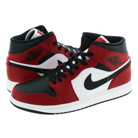 NIKE AIR JORDAN 1 MID 【CHICAGO BLACK TOE】 ナイキ エア ジョーダン 1 ミッド BLACK/GYM RED/WHITE 554724-069