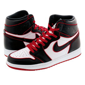 NIKE AIR JORDAN 1 RETRO HIGH OG 【BLOODLINE】 ナイキ エア ジョーダン 1 レトロ ハイ OG BLACK/GYM RED/WHITE 555088-062
