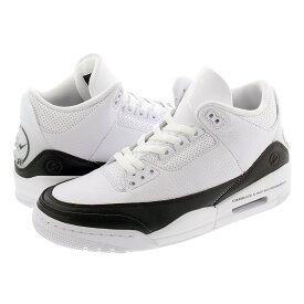 NIKE AIR JORDAN 3 RETRO SP 【FRAGMENT DESIGN】 ナイキ エア ジョーダン 3 レトロ SP WHITE/BLACK/WHITE da3595-100