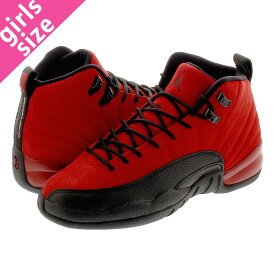 NIKE AIR JORDAN 12 RETRO GS 【REVERSE FLU GAME】 ナイキ エア ジョーダン 12 レトロ GS VARSITY RED/BLACK 153265-602