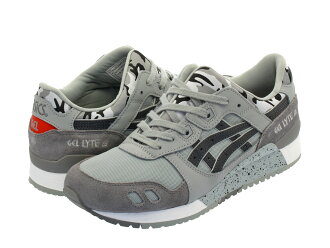 亚瑟士Tiger GEL-LYTE III亚瑟士虎凝胶灯3 MID GREY/DARK GREY