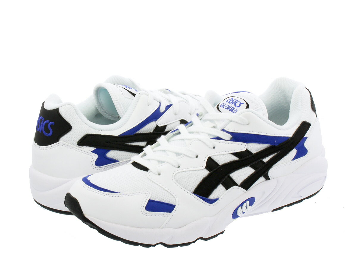 ASICS Tiger GEL-DIABLO アシックス タイガー ゲル ディアブロ WHITE/BLACK