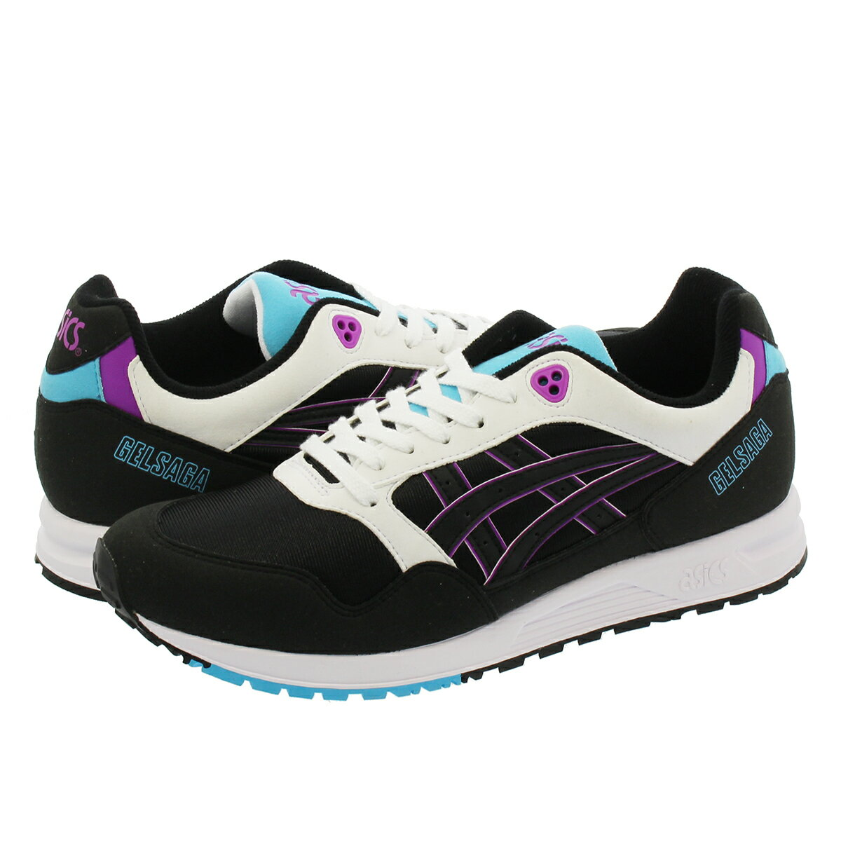 ASICS Tiger GEL SAGA アシックス ゲル サーガ BLACK/ORCHID 1193a071-001