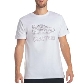 ASICS GEL-LYTE III SS TEE 2 アシックス ゲルライト 3 S/S Tシャツ 2 WHITE 2191a301-101