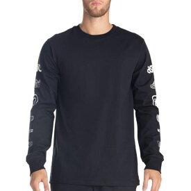ASICS GEL-LYTE III LS TEE 2 アシックス ゲルライト 3 L/S Tシャツ 2 BLACK 2191a302-002