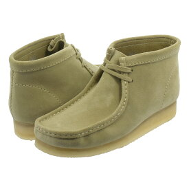 CLARKS WALLABEE BOOT クラークス ワラビー ブーツ MAPLE SUEDE 26133283