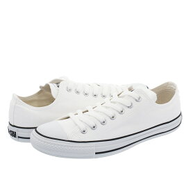 CONVERSE CANVAS ALL STAR COLORS OX コンバース キャンバス オールスター カラーズ OX WHITE/BLACK 32860660