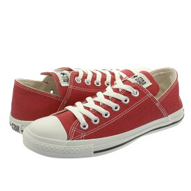 CONVERSE ALL STAR LINEN LP BB OX コンバース オールスター リネン LP BB OX RED 31300121