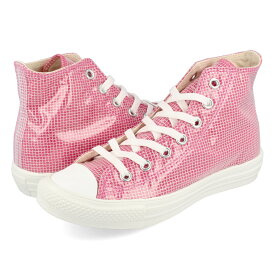 CONVERSE ALL STAR LIGHT CLEARLAYER HI コンバース オールスター ライト クリアレイヤー ハイ PINK 31303660