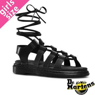 Dr.Martens KRISTINA GHILLIE SANDAL R24140001 doctor Martin Christina ghillie sandals BLACK
