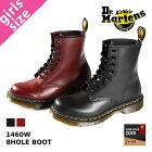 Dr.Martens 8HOLE BOOT 1460W ドクターマーチン レディース 8ホール ブーツ BLACK(R11821006) / CHERRY RED(R11821600)