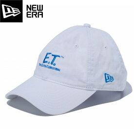 【毎日がお得!値下げプライス】 NEW ERA 9THIRTY CLOTH STRAP E.T. LOGO ニューエラ 9THIRTY クロスストラップ イーティー ロゴ WHITE