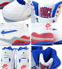 NIKE AIR COMMAND FORCE Nike air command force WHITE/BLUE/RED