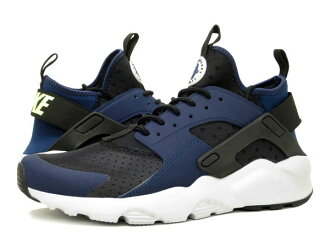 NIKE AIR HUARACHE RUN ULTRA naikieaharachiranurutora MIDNIGHT NAVY/GHOST GREEN/BLACK/PURE PLATINUM