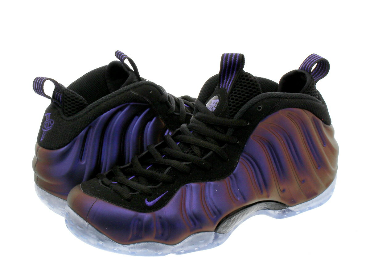 NIKE AIR FOAMPOSITE ONE 【EGGPLANT】 ナイキ フォームポジット ワン BLACK/VARSITY PURPLE/VARSITY PURPLE