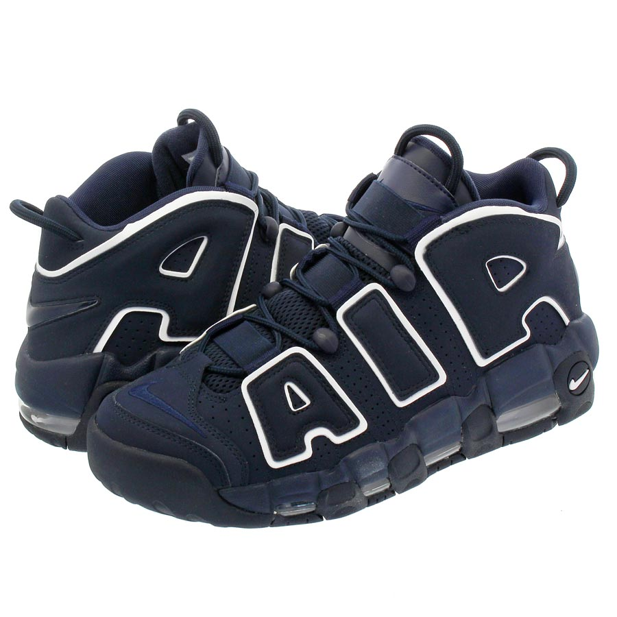 NIKE AIR MORE UPTEMPO 96 ナイキ モア アップ テンポ 96 OBSIDIAN/OBSIDIAN/WHITE 921948-400