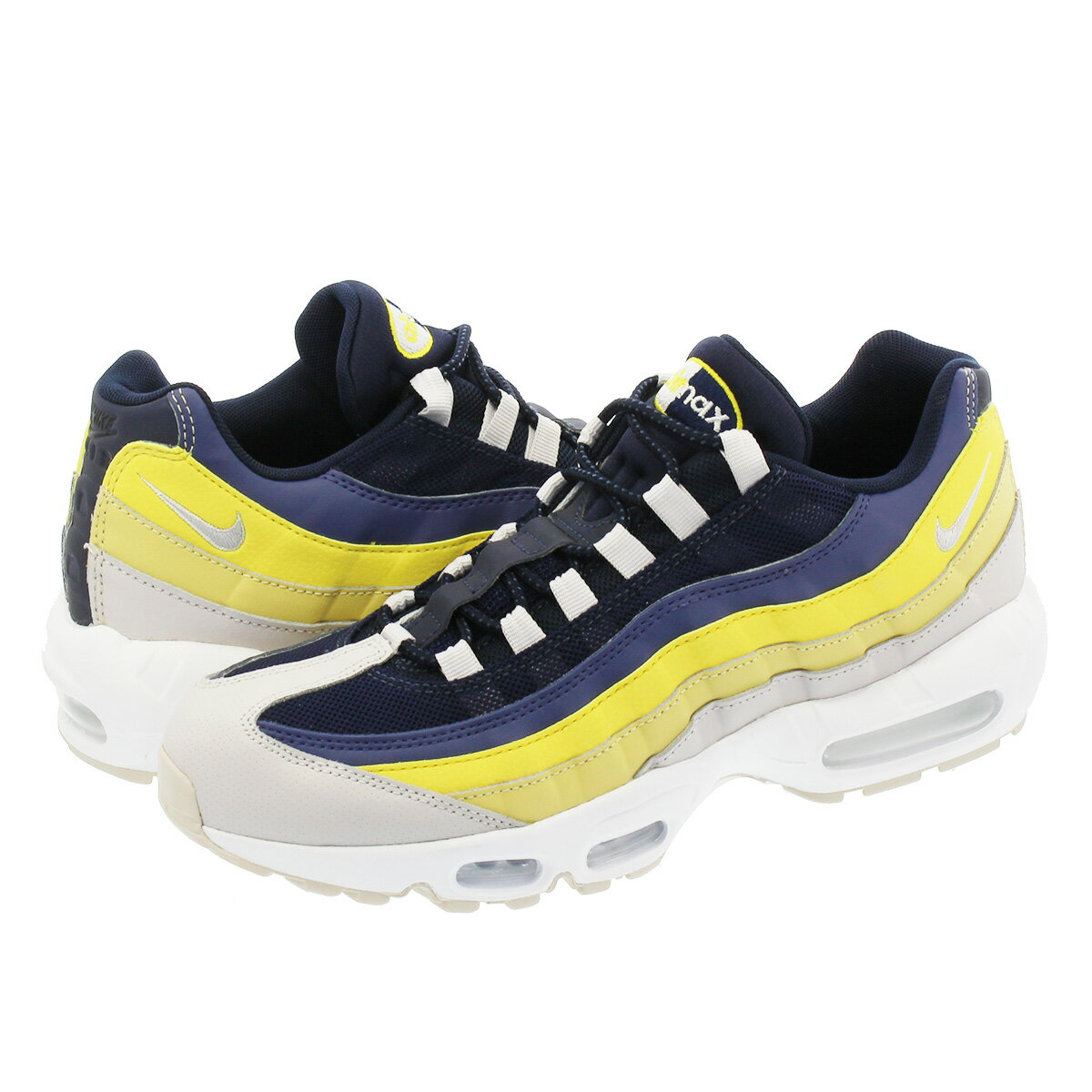 NIKE AIR MAX 95 ESSENTIAL ナイキ エア マックス 95 エッセンシャル WHITE/VAST GREY/LEMON WASH/TOUR YELLOW 749766-107