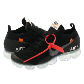 NIKE AIR VAPORMAX FLYKNIT 【OFF-WHITE】 ナイキ エア ヴェイパー マックス フライニット BLACK/TOTAL CRIMSON/CLEAR