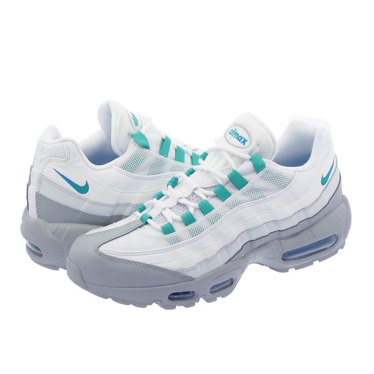 NIKE AIR MAX 95 ESSENTIAL ナイキ エア マックス 95 エッセンシャル LIGHT PUMICE/CLEAR EMERALD/WHITE 749766-032