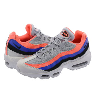 NIKE AIR MAX 95 ESSENTIAL Kie Ney AMAX 95 essential PURE PLATINUM/BLACK/BRIGHT MANGO 749,766-035