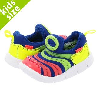 NIKE DYNAMO FREE TD Nike dynamo-free TD BLUE/VOLT/CRIMSON/WHITE aa7217-400