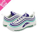 4ecbde2237f7 NIKE WMNS AIR MAX 97 UL  17 SE Nike women Air Max ultra  17 WHITE COURT  PURPLE EMERALD GREEN ah6806-102