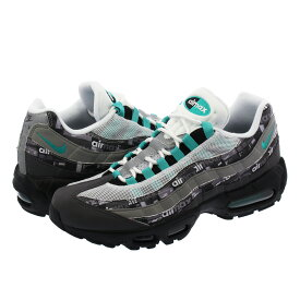 NIKE AIR MAX 95 PRINT 【atmos】 【WE LOVE NIKE】 ナイキ エア マックス 95 プリント BLACK/CLEAR JADE/MEDIUM ASH/DK PEWTER aq0925-001