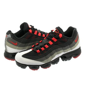 NIKE AIR VAPORMAX 95 ナイキ エア ヴェイパーマックス 95 WHITE/HOT RED/DARK PEWTER/GRANITE aj7292-101