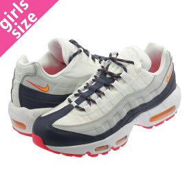 NIKE WMNS AIR MAX 95 ナイキ ウィメンズ エア マックス 95 PURE PLATINUM/MIDNIGHT NAVY/LASER ORANGE 307960-405