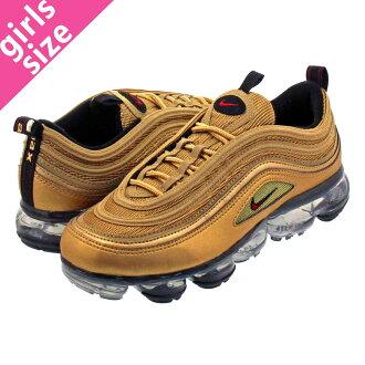 promo code 29641 ffafa NIKE AIR VAPORMAX 97 GS Nike air vapor max 97 GS METALLIC GOLD/VARSITY  RED/BLACK/WHITE aq2657-700