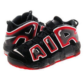 NIKE AIR MORE UPTEMPO 96 ナイキ モア アップ テンポ 96 BLACK/WHITE/LASER CRIMSON cj6129-001