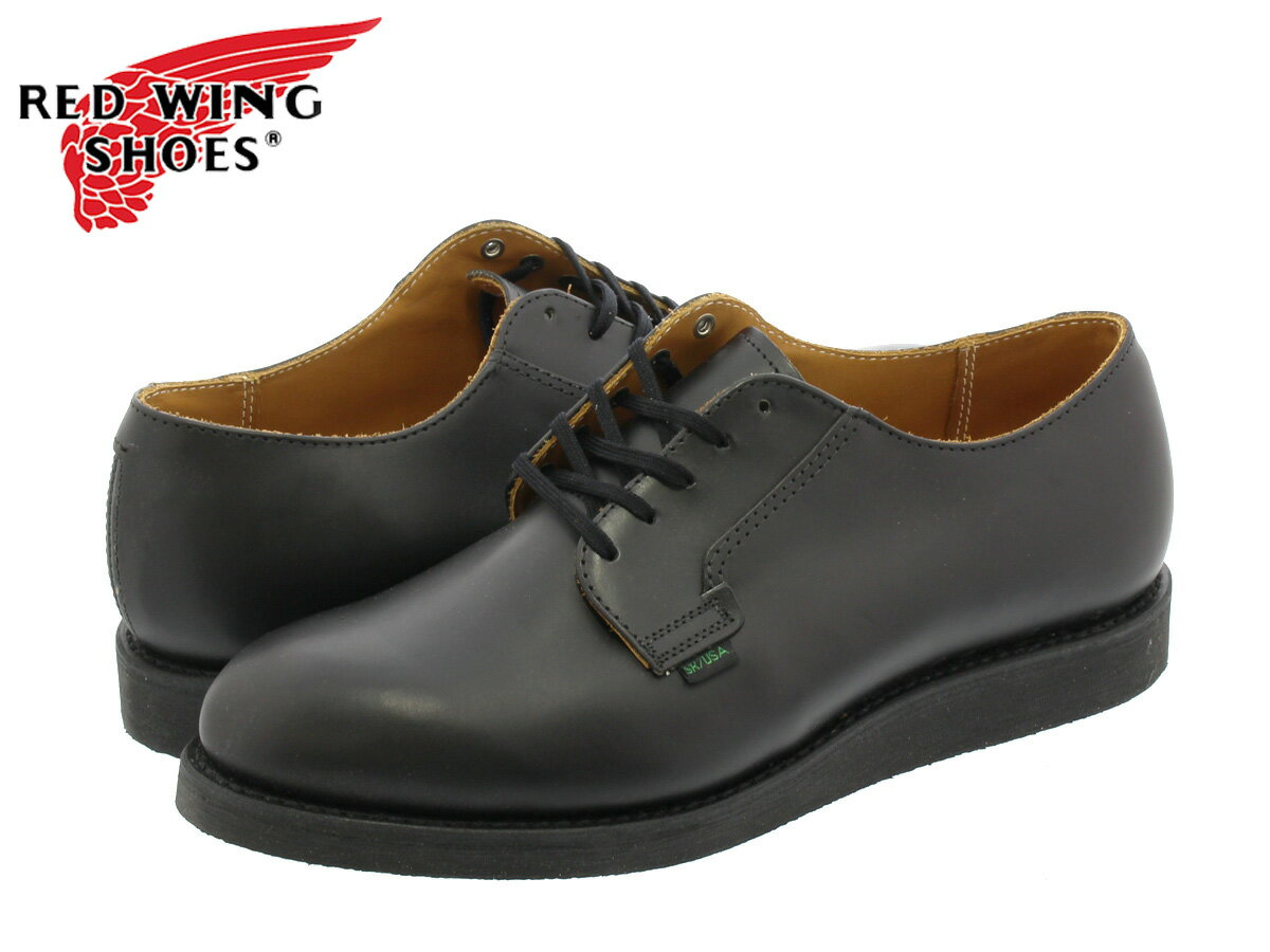 RED WING 101 POSTMAN BOOT OXFORD 【MADE IN U.S.A.】 レッドウイング ポストマン ブーツ オックス フォード BLACK