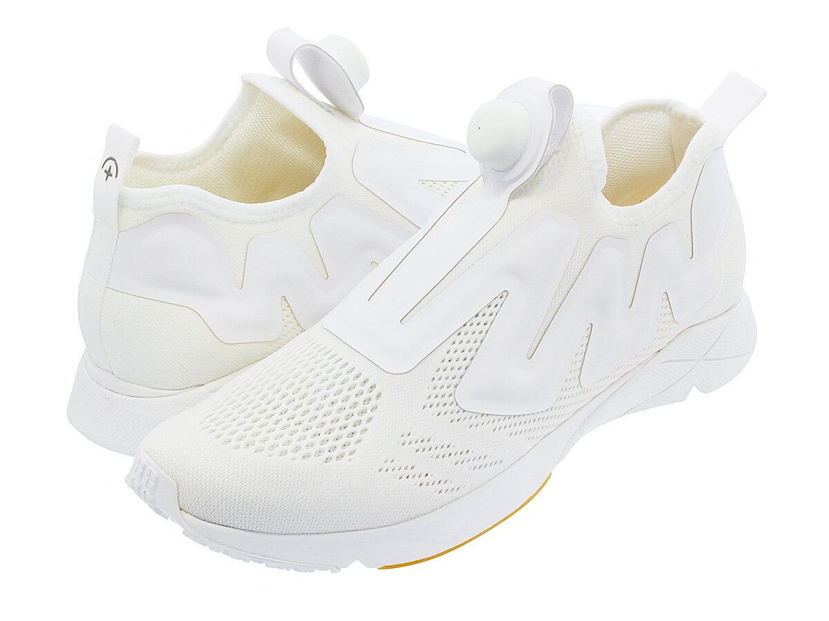 【お買い物マラソンSALE】 Reebok PUMP PLUS SUPREME ENGINE リーボック ポンプ プラス シュプリーム エンジン WHITE