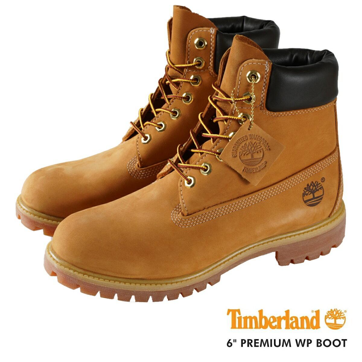 TIMBERLAND 6inch PREMIUM BOOT ティンバーランド 6インチ ブーツ 10061 WHEAT