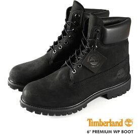 TIMBERLAND 6inch BOOT ティンバーランド 6インチ ブーツ BLACK 黒 【メンズ】 10073