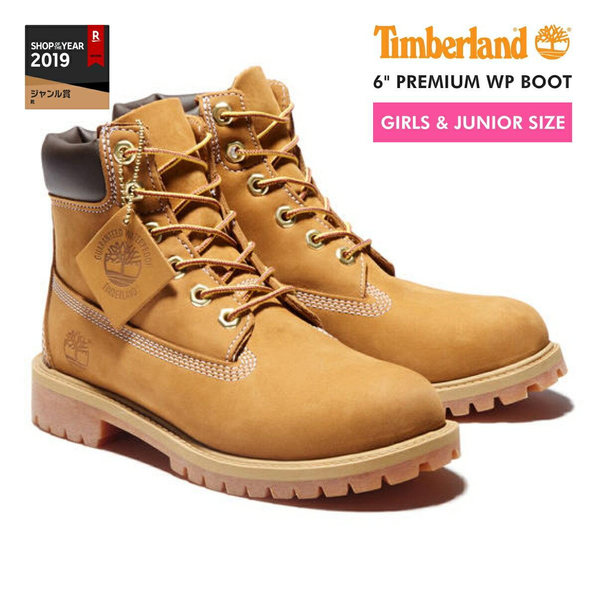 TIMBERLAND 6inch PREMIUM BOOT ティンバーランド 6インチ プレミアム ブーツ JUNIOR'S WEHAT No.12909 レディース