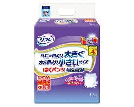 【ベビー用より大きく、大人用より小さい!!】はくパンツ ジュニア 20枚×4袋