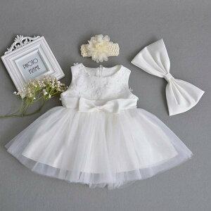 新生児 スカート 写真撮り 結婚式 new 5色入 退院お祝 ベビードレス ドレス かわいい 出産祝い お宮参り 子供服 白 赤ちゃん 女の子 子供ドレス