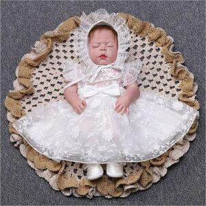 新生児 退院お祝 結婚式 子供服 new かわいい 赤ちゃん 出産祝い ベビードレス 女の子 ドレス ベビー服 お宮参り スカート 子供ドレス 帽子付き