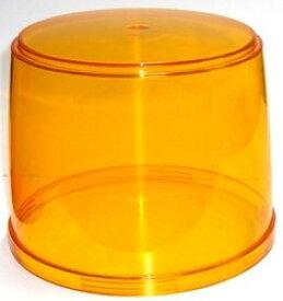 交換用替えグローブ(カバー)回転灯パトライトKG型黄色