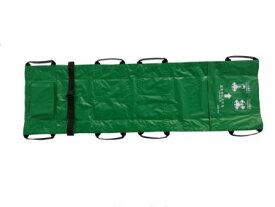 ターポリン担架収納バック付き コンパクトシートタイプ簡易ストレッチャー日本製(国内製造品)