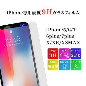 ガラスフィルム iPhone 11 pro max XR ケース Xs X 8 7 plus 6s 6 保護フィルム 全面保護 ガラス 保護シート アイフォン ケース カバー 送料無料