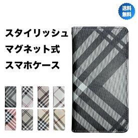 iPhone 11 ケース XR Xs X 8 7 6s 6 カバー 手帳型 レザー チェック シンプル マグネットあり 手帳 耐衝撃 ベルトなし 送料無料