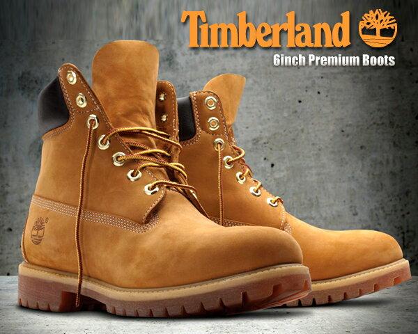 お得な割引クーポン発行中!!【あす楽 対応!!】【送料無料 ティンバーランド ブーツ 6インチ ウィート メンズ】Timberland 6inch Premium Boots wheat