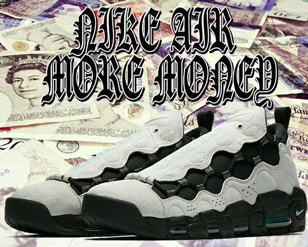 【送料無料 ナイキ エアモアマネー UK】NIKE AIR MORE MONEY QS barely grey/hyper jade-black【モア マネー クイックストライク United Kingdom ENGLAND £ ポンド GET PAPER】